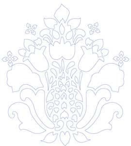 khuôn trang trí hoa văn st60-436