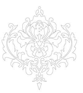 khuôn trang trí hoa văn st60-475