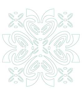 khuôn trang trí hoa văn st60-486