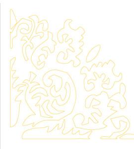 khuôn trang trí hoa văn st60-90012