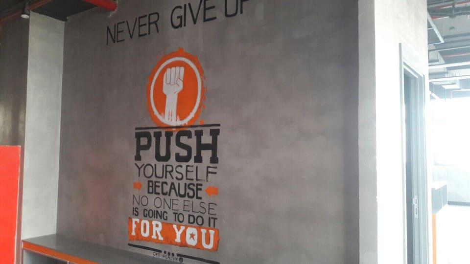 dự án phòng gym với sơn bê tông pukaco
