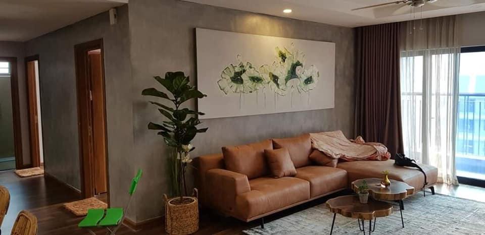 trang trí căn hộ với sơn bê tông pukaco
