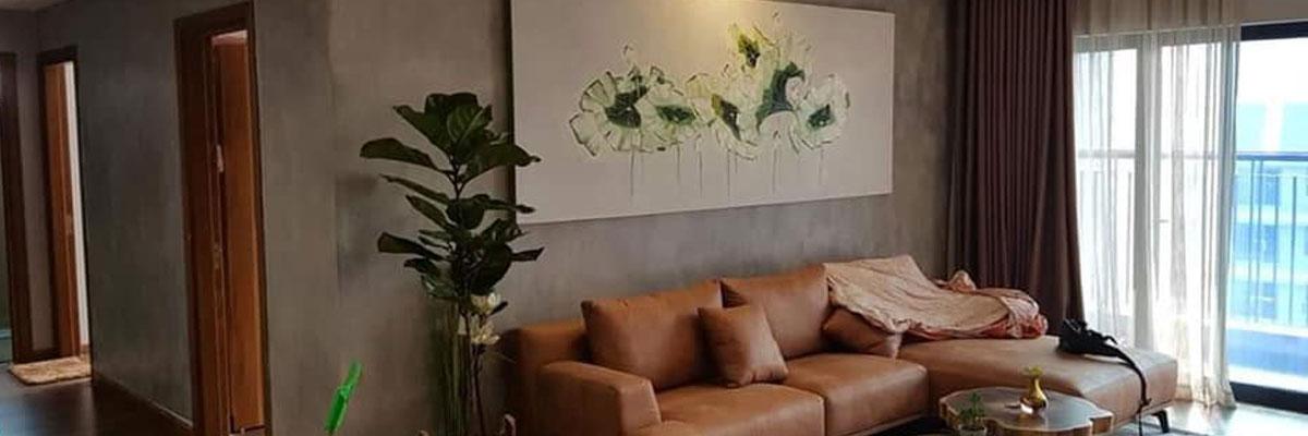 sơn bê tông trang trí căn hộ penhouse